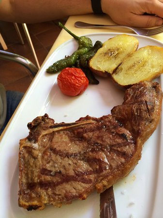 La Masia: T-bone steak