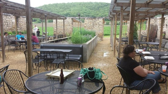 The Stone Barn: view