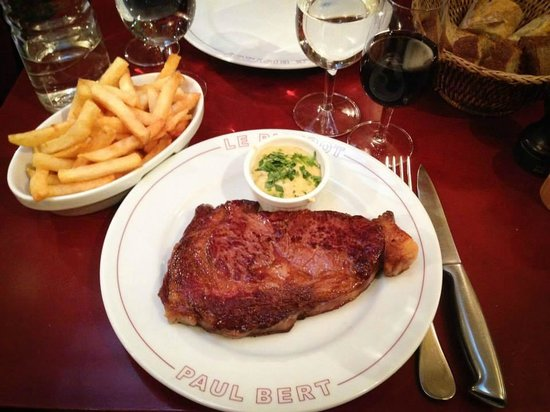 Bistrot Paul Bert : Steak and Frites
