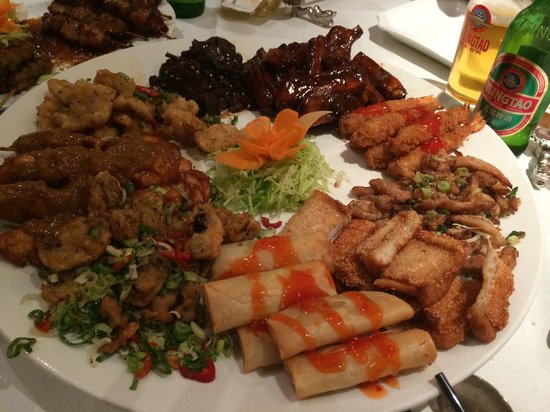 Imperial Oriental Restaurant: Starters to share