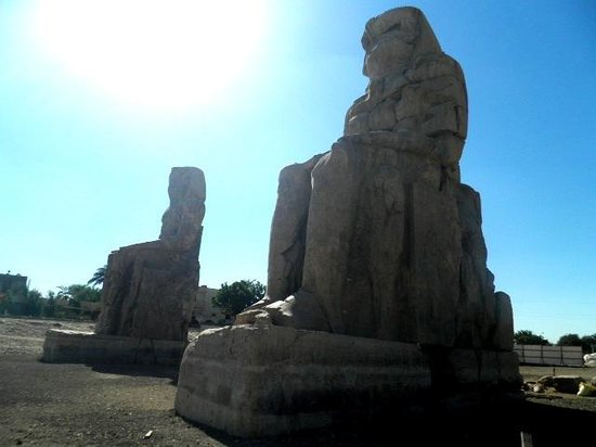 Colossi of Memnon: Amenhotep III