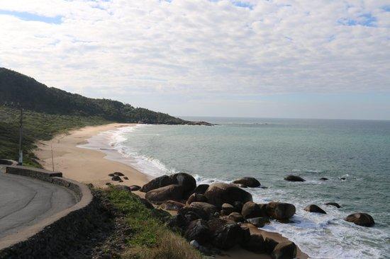 Taquarinhas Beach: Deserta.