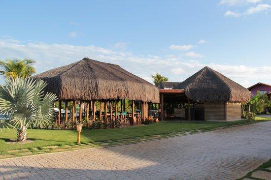 Toko Village: Quiosque onde o café da manhã é servido