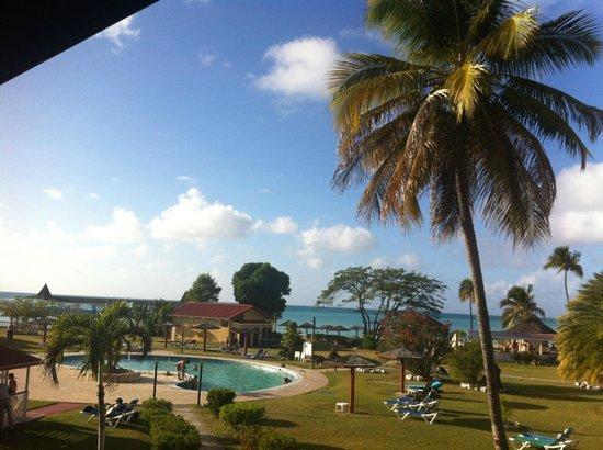 Halcyon Cove by Rex Resorts: Vista dalla nostra camera