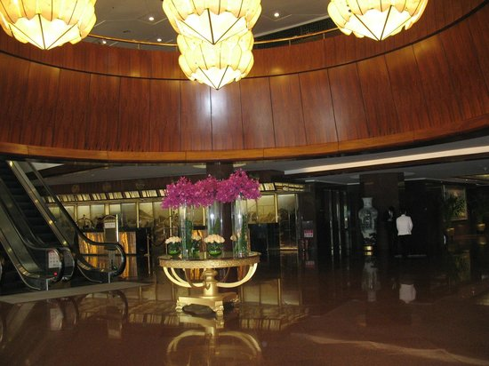 Lobby of Beijing International Hotel
