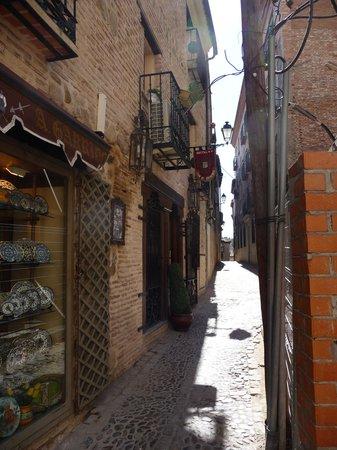 Hostal Casa de Cisneros: Beautiful balcony !