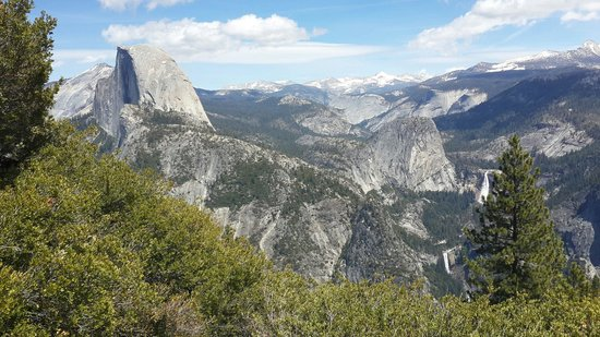 Panorama Trail : Half dome