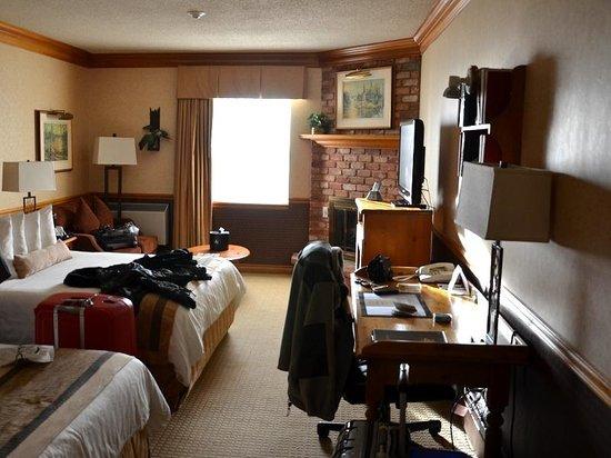 Best Western Fireside Inn: Vue de la chambre