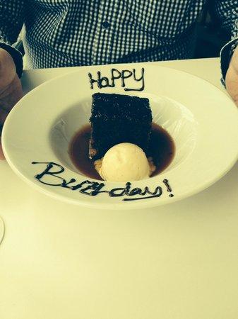 Six : Birthday pudding
