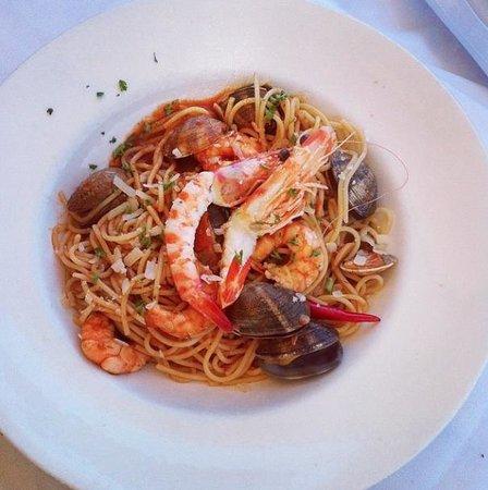 La Sala : Seafood spaghetti!