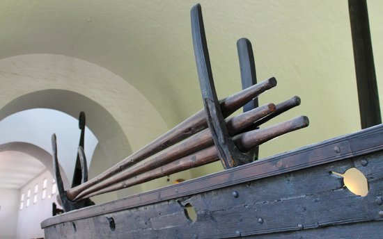 Viking Ship Museum : particolare remi