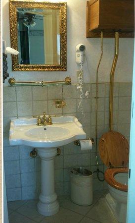 The Horton Grand Hotel: Old style, ornate bathroom