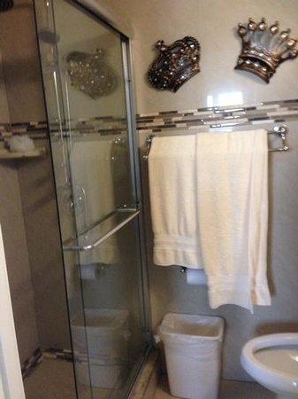 The Enclave Hotel & Suites : big shower