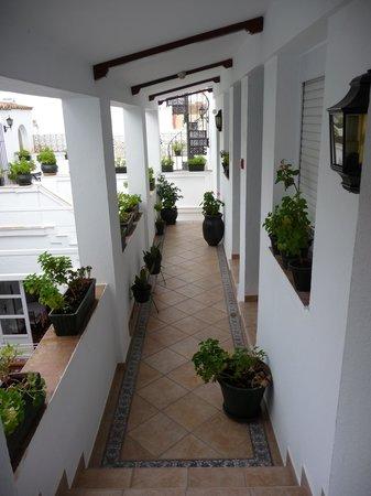 Hotel Los Olivos: Inside the hotel