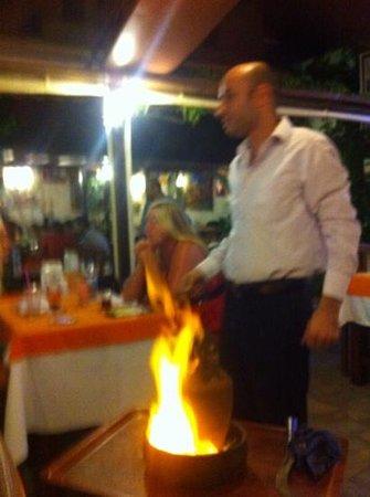 Erzincan Restaurant : flambe
