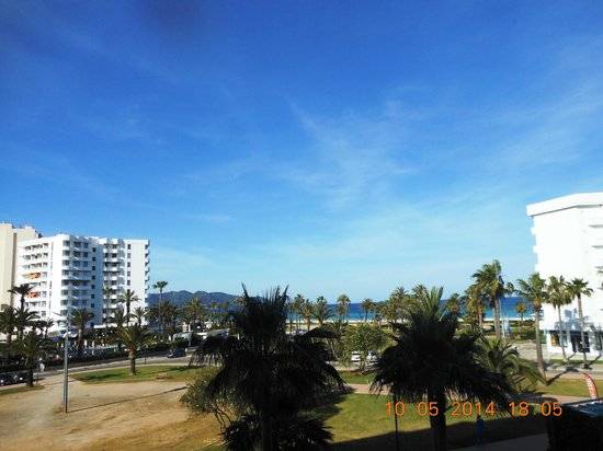Hipotels Aparthotel Cala Millor Park: Meerblick vom Balkon
