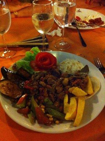 Erzincan Restaurant : lovely food, beautifully presented