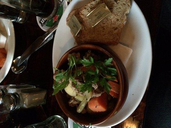 The Old Storehouse Bar & Restaurant: Irish stew