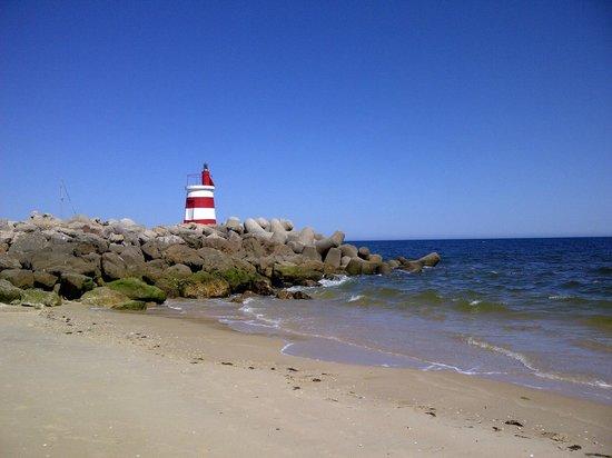 Tavira Island: the beach