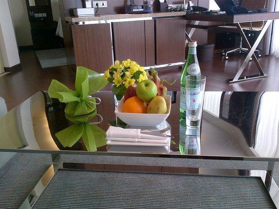 JW Marriott Hotel Hanoi: Welcome dish