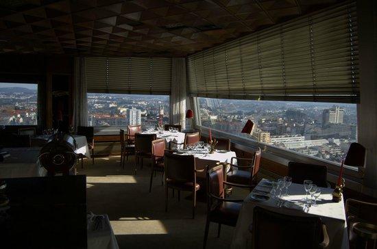 Albergaria Miradouro: Le restaurant dernier étage