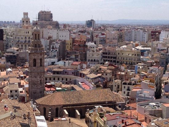 Valencia from the Miguelete