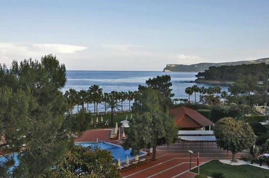 Club Med Palmiye: Vue du balcon