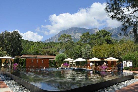 Club Med Palmiye: L'espace piscine zen