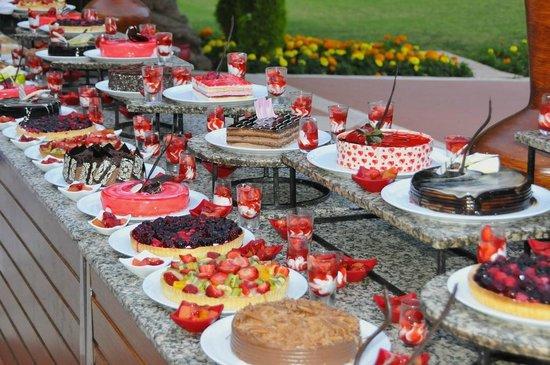 Club Med Palmiye: Buffet des desserts