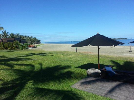 Hilton Fiji Beach Resort & Spa: Vue du resto