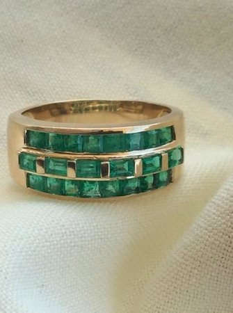 Caribe Jewelry: My Emerald Ring