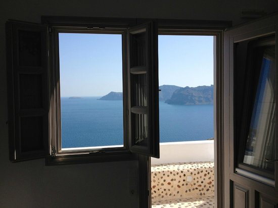 Filotera Suites: View from inside the room