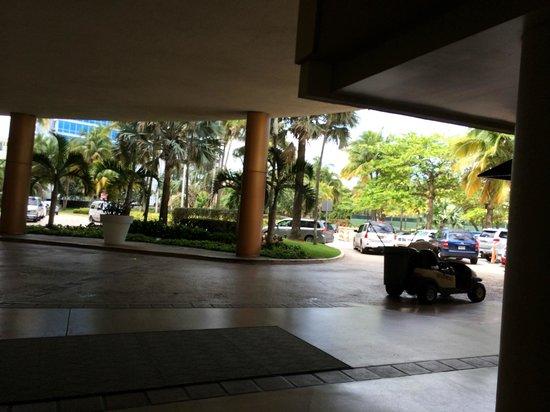 Caribe Hilton San Juan: lobby/reception area