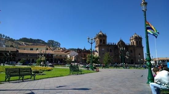 Centro Historico De Cusco: beautiful setting, have a seat and soak it up