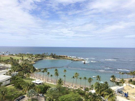 Caribe Hilton San Juan: view from balcony of room