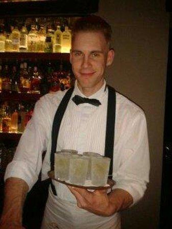 Bugsy's bar: presentation Krug