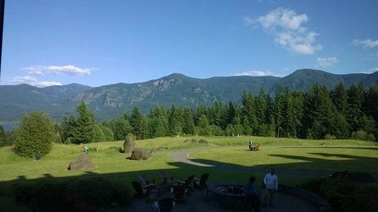 Skamania Lodge: Our view