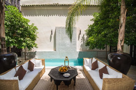 Riad Kheirredine : Pool & courtyard