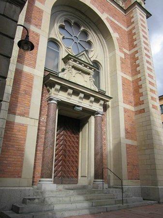 Tyska Kyrkan (Old German Church): Kircheneingang
