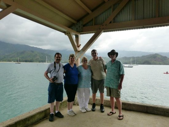 Tread Lightly Kauai Tours- Private Day Tours: At the beautiful Hanalei Bay and Mountain Range with Jay