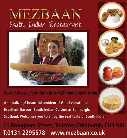 Mezbaan South Indian Restaurant : Mezbaan dosa