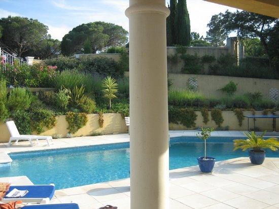 Le petit Ramses, Parc Anais - Sainte Maxime - France. Chez Martine & Phillipe.