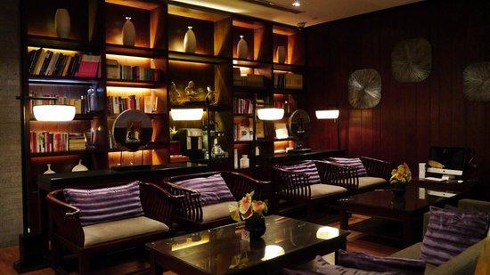 SSAW Boutique Hotel Shanghai Bund: Reception area