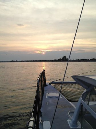 Ninth Wave Sailing Charters: Sunset Sail on The Ninth Wave in Newburyport