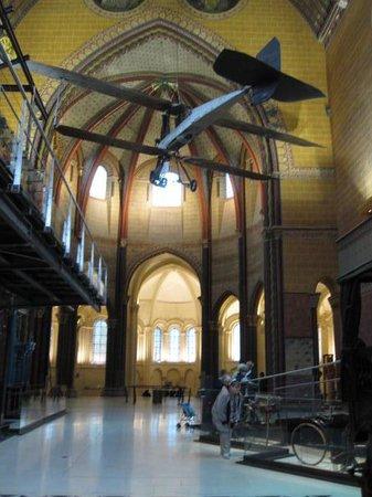 Musée des arts et métiers : Inside the Cathedral