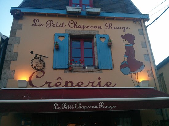 Le Petit Chaperon Rouge : façade superbe