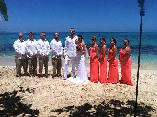 Royal Decameron Montego Beach: wedding