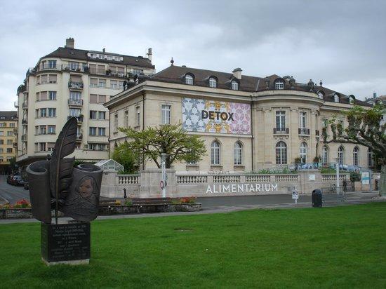 Museum der Ernährung: Fachada do Museu
