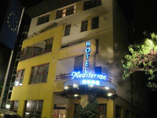 Hotel Mediterran: hotelfront