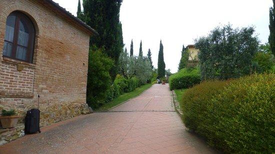 La Valle: the entrance